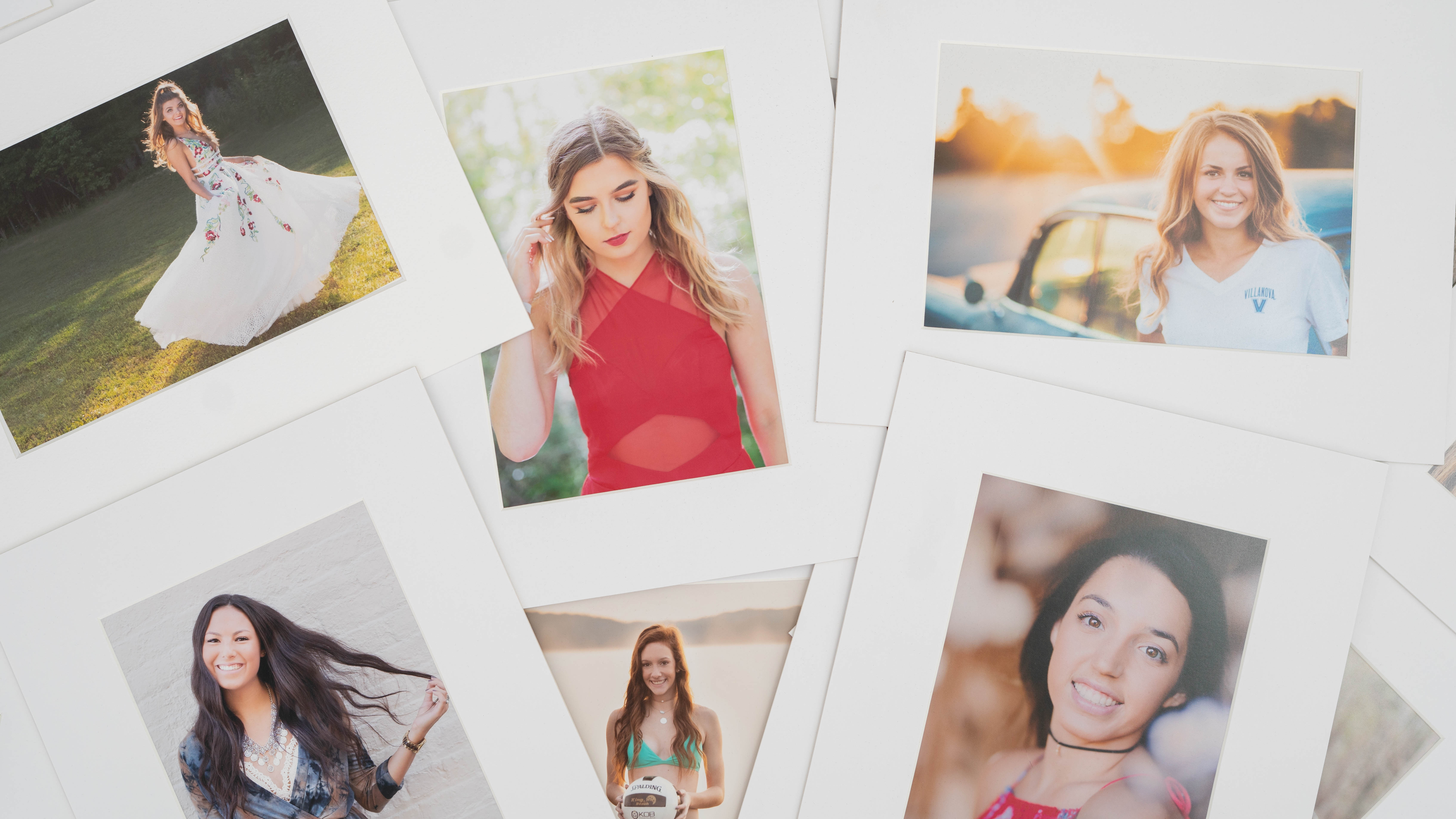 Printed and Matted photos