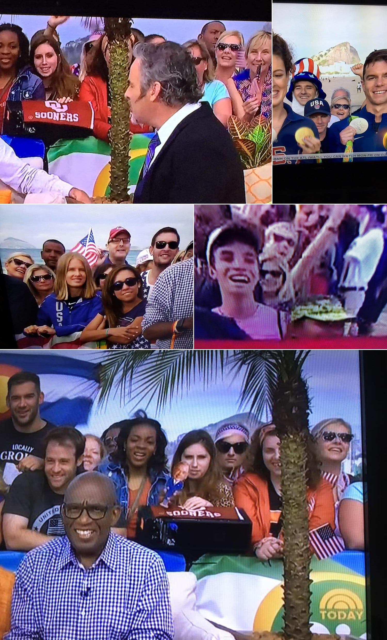 Our 15 minutes of fame in Rio