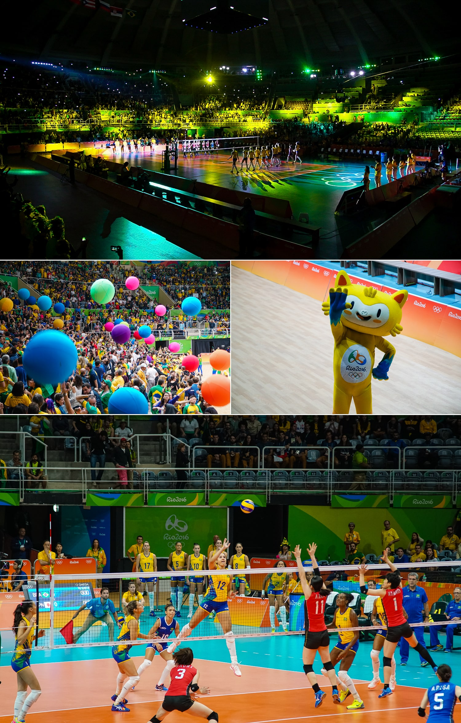 Women's Volleyball in Rio