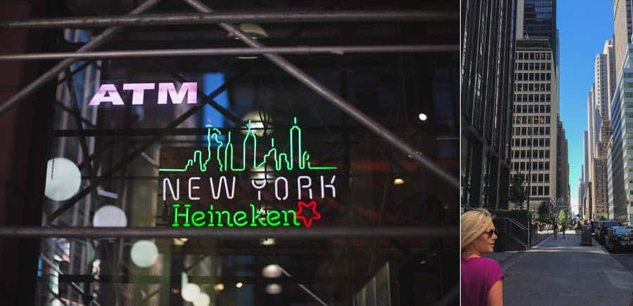 Picture of Heineken New York neon sign