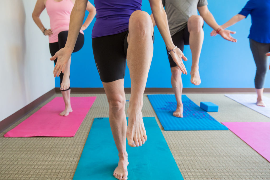 Mary offers yoga at fusion pt atl
