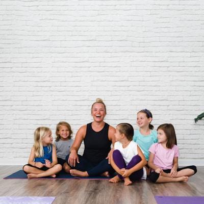 personal branding photo yoga