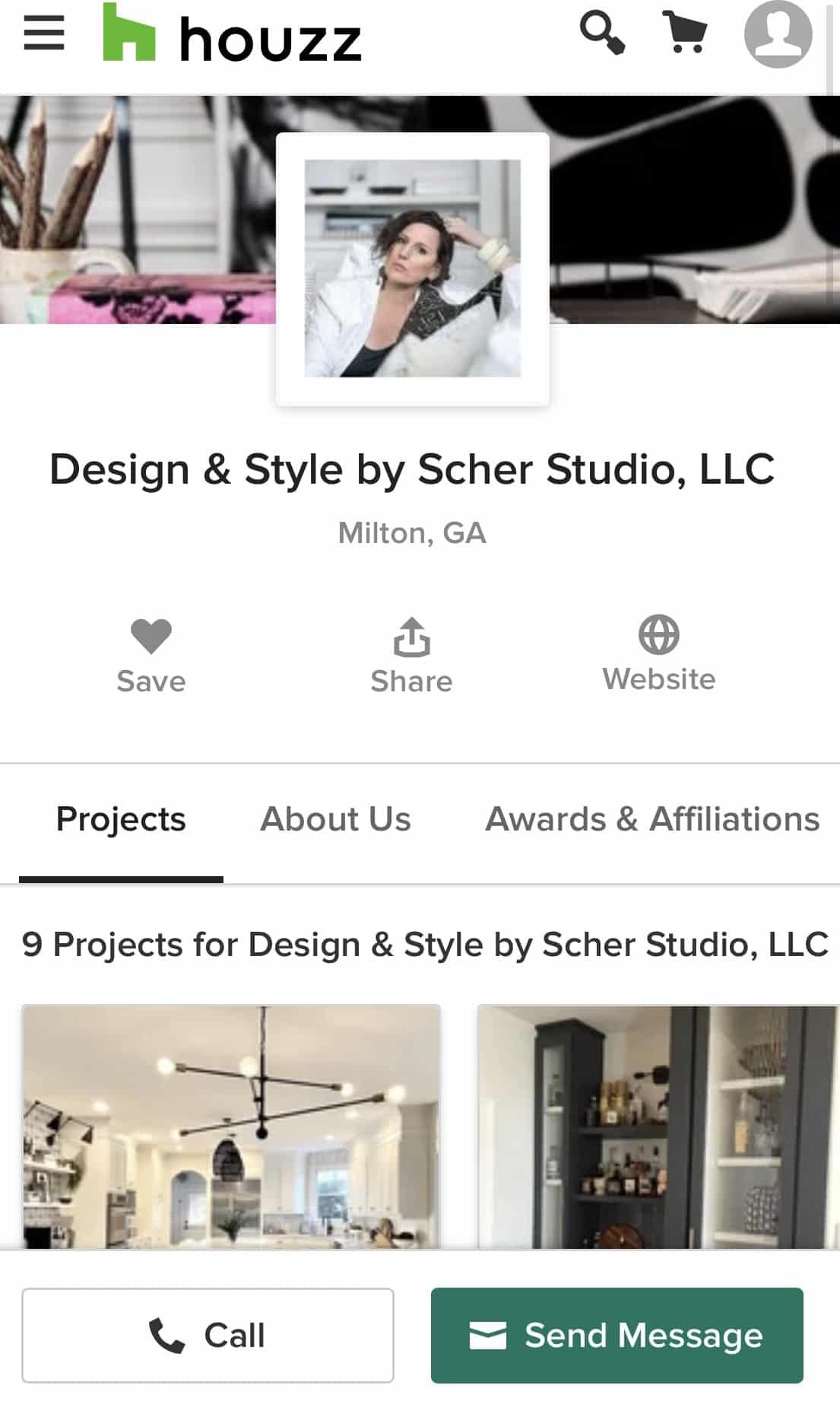 Houzz profile of Design & Style by Stephanie Scher